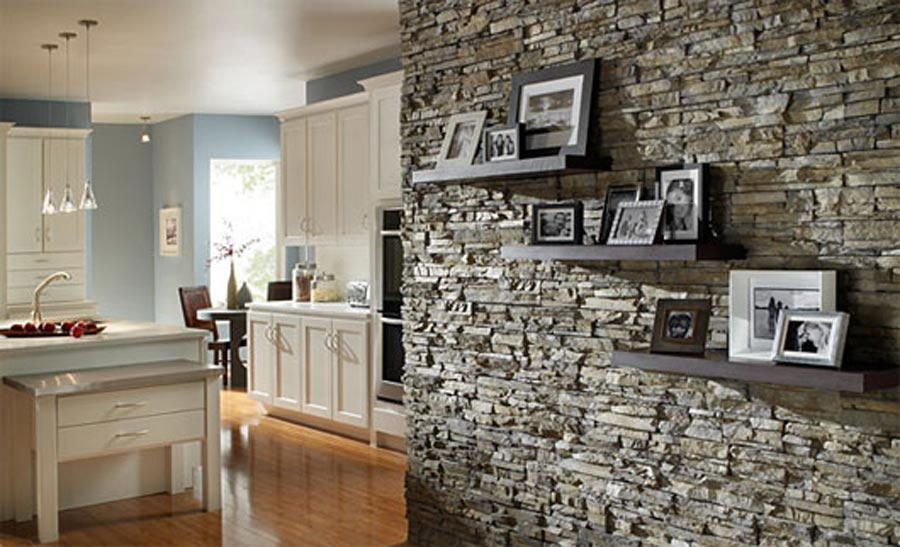 Genial An Interior Stone Wall